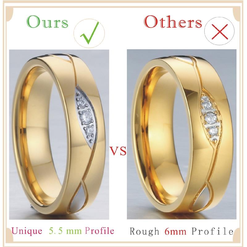 Juvelierizstrādājumu dizaineru alianse Kāzu gredzeni sievietēm no - Modes rotaslietas - Foto 5