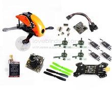 DIY mini drone Robocat 270 V3 quadcopter pure carbon frame kit cobra 2204 2300KV motor+littlebee 20A+NAZE32 10DOF+TS5828L VTX