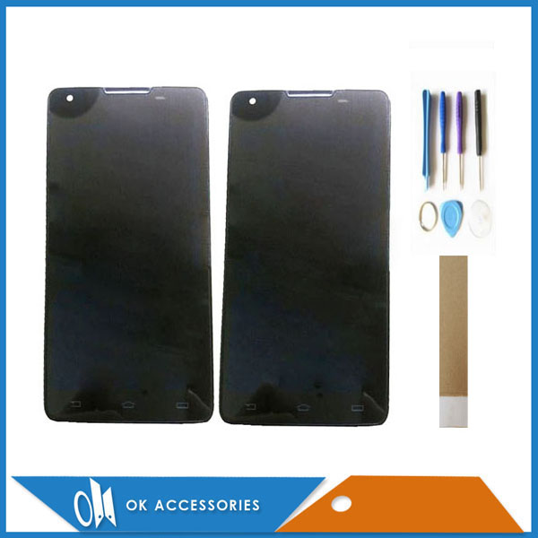 5.0 Inch For Philips Xenium W6610 W6618 LCD Display+Touch Screen Digitizer High Quality Black Color With Tools Tape5.0 Inch For Philips Xenium W6610 W6618 LCD Display+Touch Screen Digitizer High Quality Black Color With Tools Tape