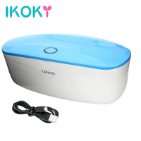 IKOKY UV Disinfection Box for Sex Toys Sterilization and Disinfection for Vibrators Eggs Dildo Masturbator Device Adult Products