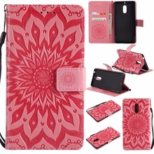 Flip Case For Nokia 3 5 6 8 9 Lumia 635 550 640 650 N3310 Sun Flower Wallet PU Leather Stand Cover Shockproof Case Shell New protective pu leather flip open case w strap for nokia lumia 1020 deep pink