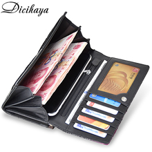 Women Genuine Leather Fashion Long Wallets (2 colors)