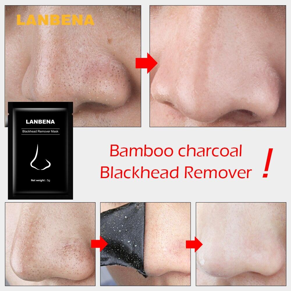 Beyoutiful Black Out Pore Treatment: LANBENA Blackhead Remover Nose Masks Face Mask Acne