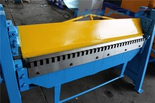 harsle NO POLLUTION hand type sheet metal folding machine manual plate bending machine price