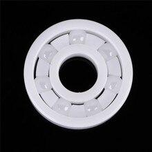 1 unid Rodamiento De Bolas De Cerámica De Óxido De Zirconio ZrO2 Cojinete De Cerámica Completo 608 8mm * 22mm * 7mm