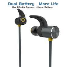 BX343 Беспроводной наушники Bluetooth IPX5 Водонепроницаемый наушники магнитных гарнитура наушники С микрофоном для телефона Спортивная