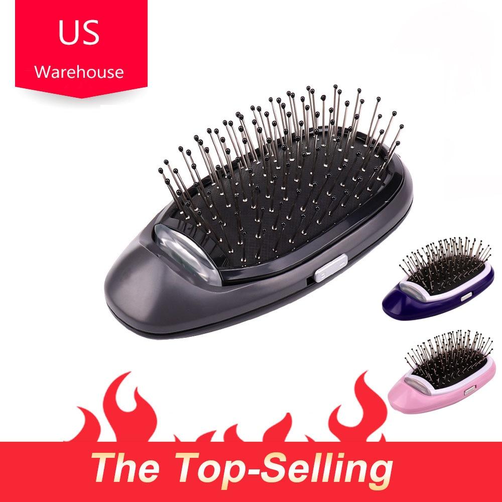 Dropshipping pelo estilo masaje peine cepillo de pelo de cuero cabelludo cepillo peine para clientes VIP nos almacén