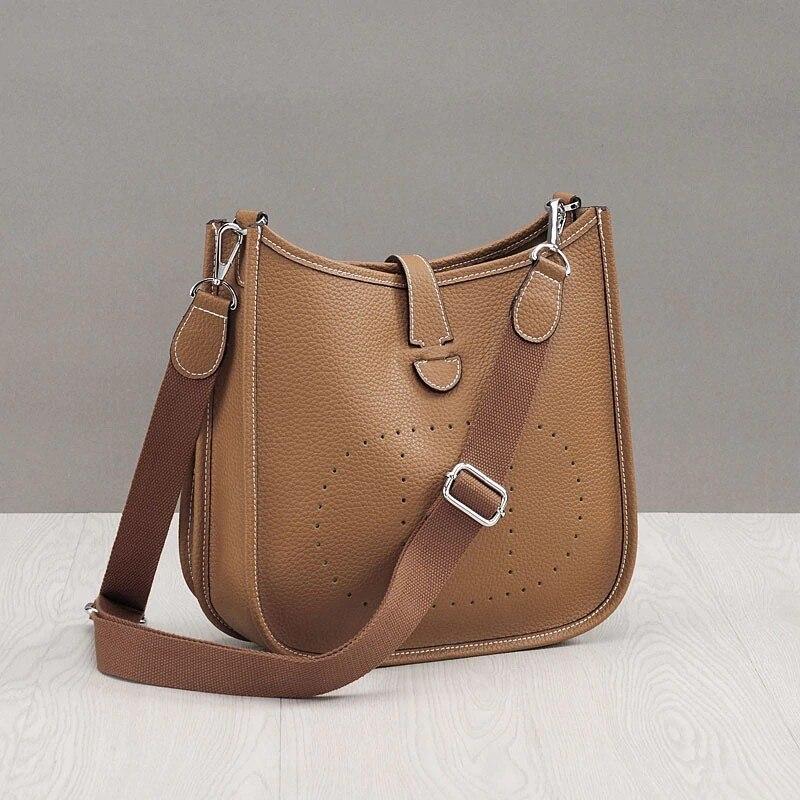 Luxe célèbre femmes en cuir véritable sac à main 2019 marque de mode seau sacs Designer en cuir de vache femme sac à bandoulière pour dames