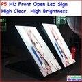 """P5 открытый двухсторонний светодиодный знак, 96 см х 192 см, 37.8 """"x 75.6"""" IP65 Дизайн, Высокая Ясно, Высокая яркость, p6, p8, p10"""