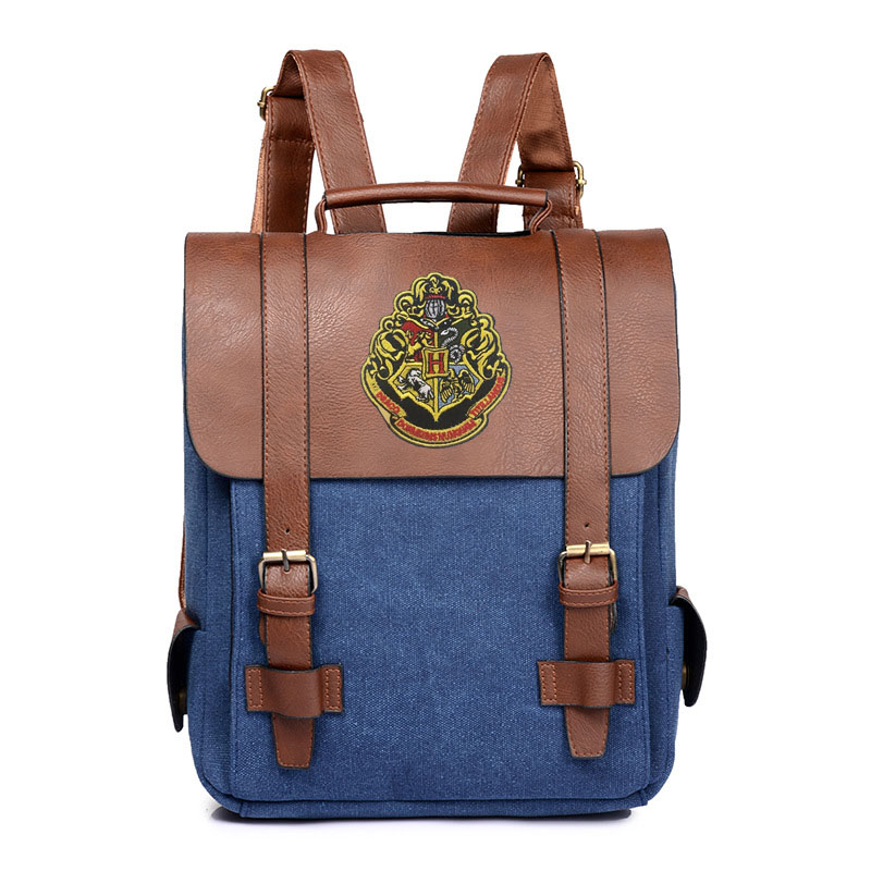 Vintage Harry Potter Backpacks For Teenage Girls Boys British School Bags Large High Quality Patchwork Backpack EscolaresVintage Harry Potter Backpacks For Teenage Girls Boys British School Bags Large High Quality Patchwork Backpack Escolares