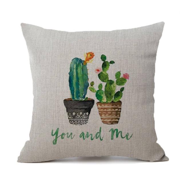 Tropical Cactus Pillowcase