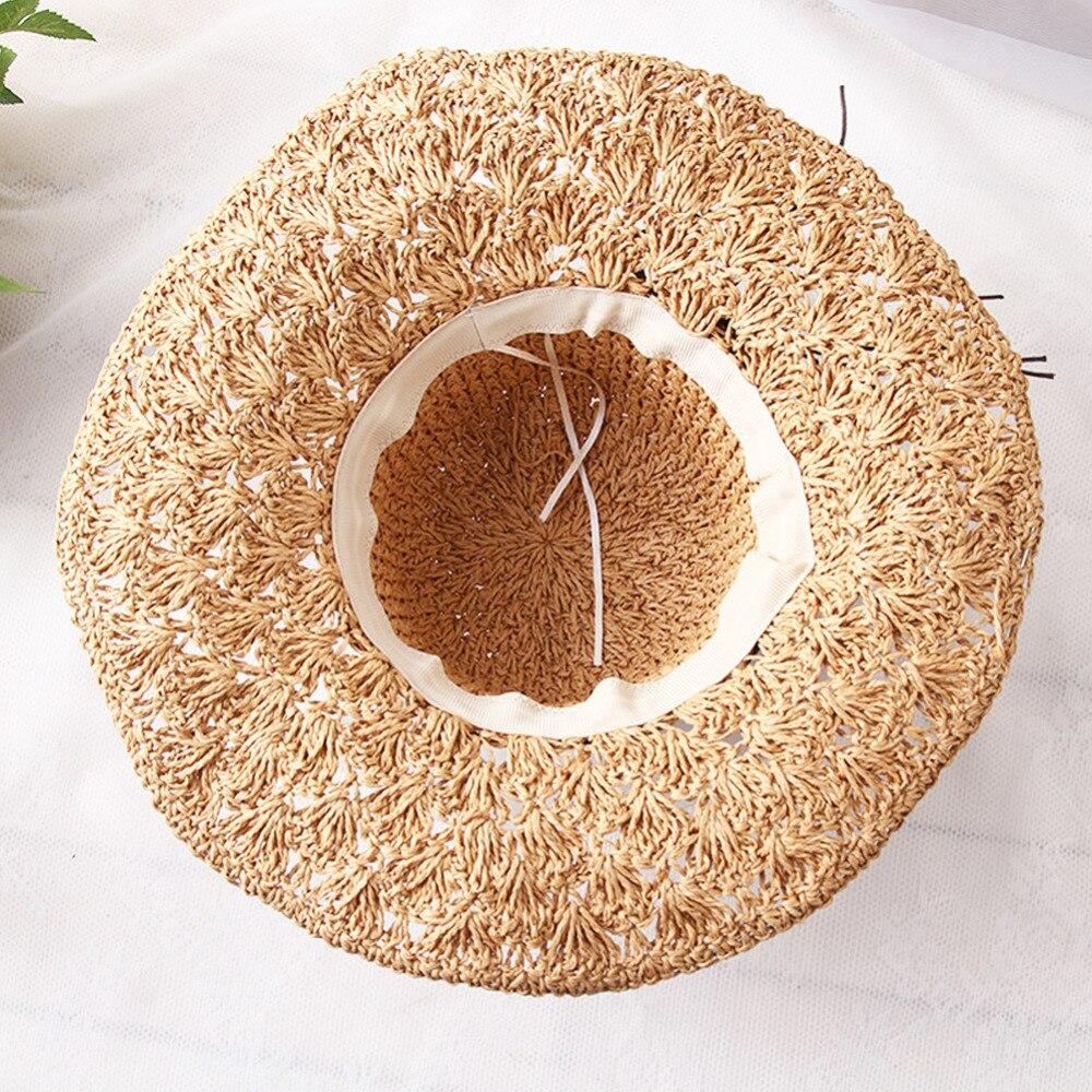Wanita musim panas topi liburan sunset resort topi nelayan luar pantai  matahari topi jerami liar untuk wanita jerami topi snapback gorras di Topi  Matahari ... 24cc295bfb