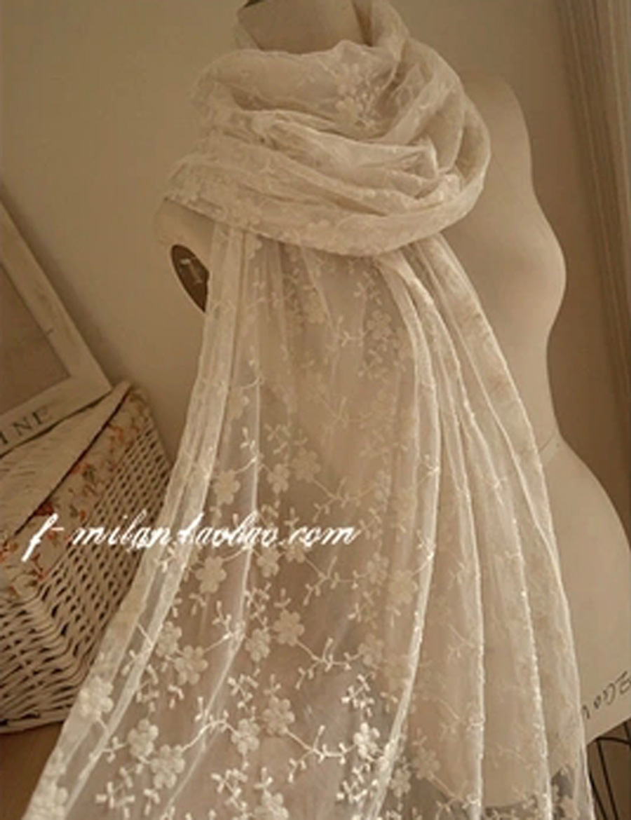 Free Shipping Women Scarf Lace Cotton Scs