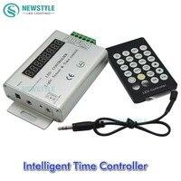 24 KEYS 3 Channel 12V 24V Intelligent Light Sensor And Time Programmable Led Controller For Single