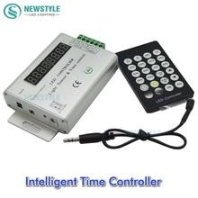 24 KEYS 3 Channel 12V/24V Intelligent Light Sensor And Time Programmable Led Controller For Single Color Led Strip