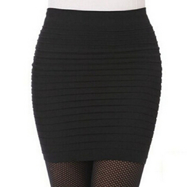 Sexy Midi High Waist Vintage Slim Hip Pencil Skirts  for Shemales & Crossdressers