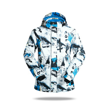 купить Brand New Winter Waterproof colorful Ski Jackets Suit Men Outdoor Skiing Clothes Thermal Snowboard Jackets Climbing Snow дешево