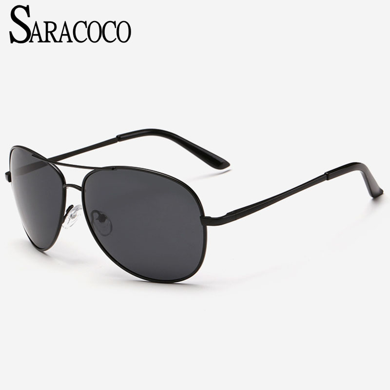 bb272ae3af14e SARACOCO Luvury Piolt Homens Óculos Polarizados 2018 Marca de Moda Designer  de Marca Óculos de Sol para As Mulheres R02