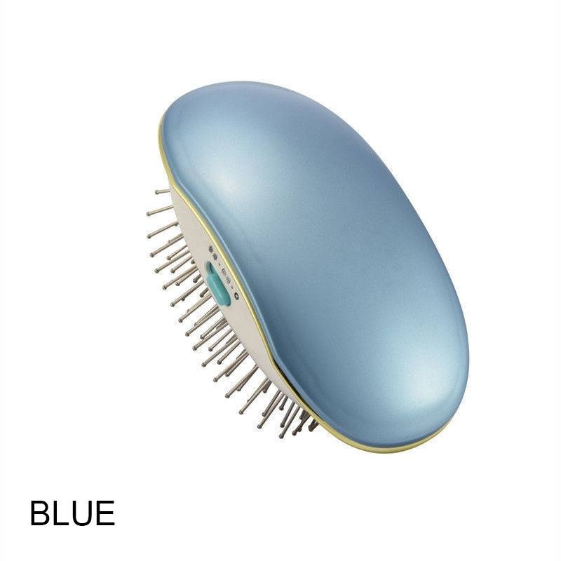 Portable Electric Ionic Hairbrush Takeout Mini Hair Brush Comb Massage Small New цена
