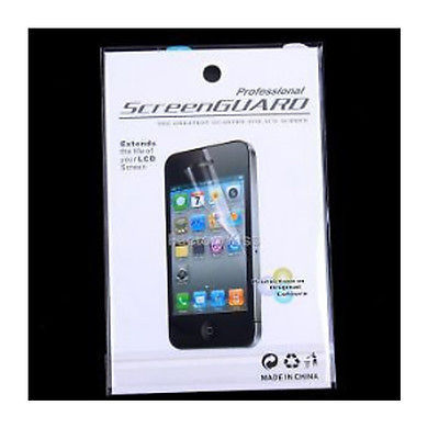 For IPhone 4 4G 4S Professional Ultra Clear Screen Protector LCD Cover Guard screen protector with cleaning cloth for iphone 4