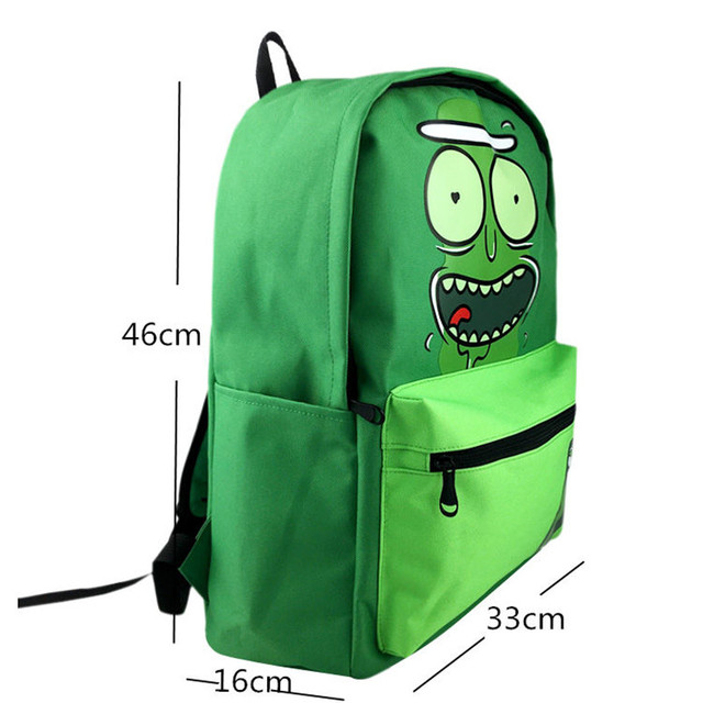 Rick and Morty Pickle Rick Backpack  1