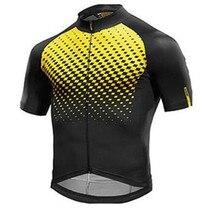 Yellow Mavic Cycling Jersey Cycling Clothing Racing Sport Bike Jersey Tops Cycling  Wear Short Sleeves Maillot 5b28a9750