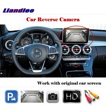Liandlee Auto Reverse Parking Camera For Mercedes Benz C Class W204 2007~2014 / Rear Back Work with Car Factory Screen