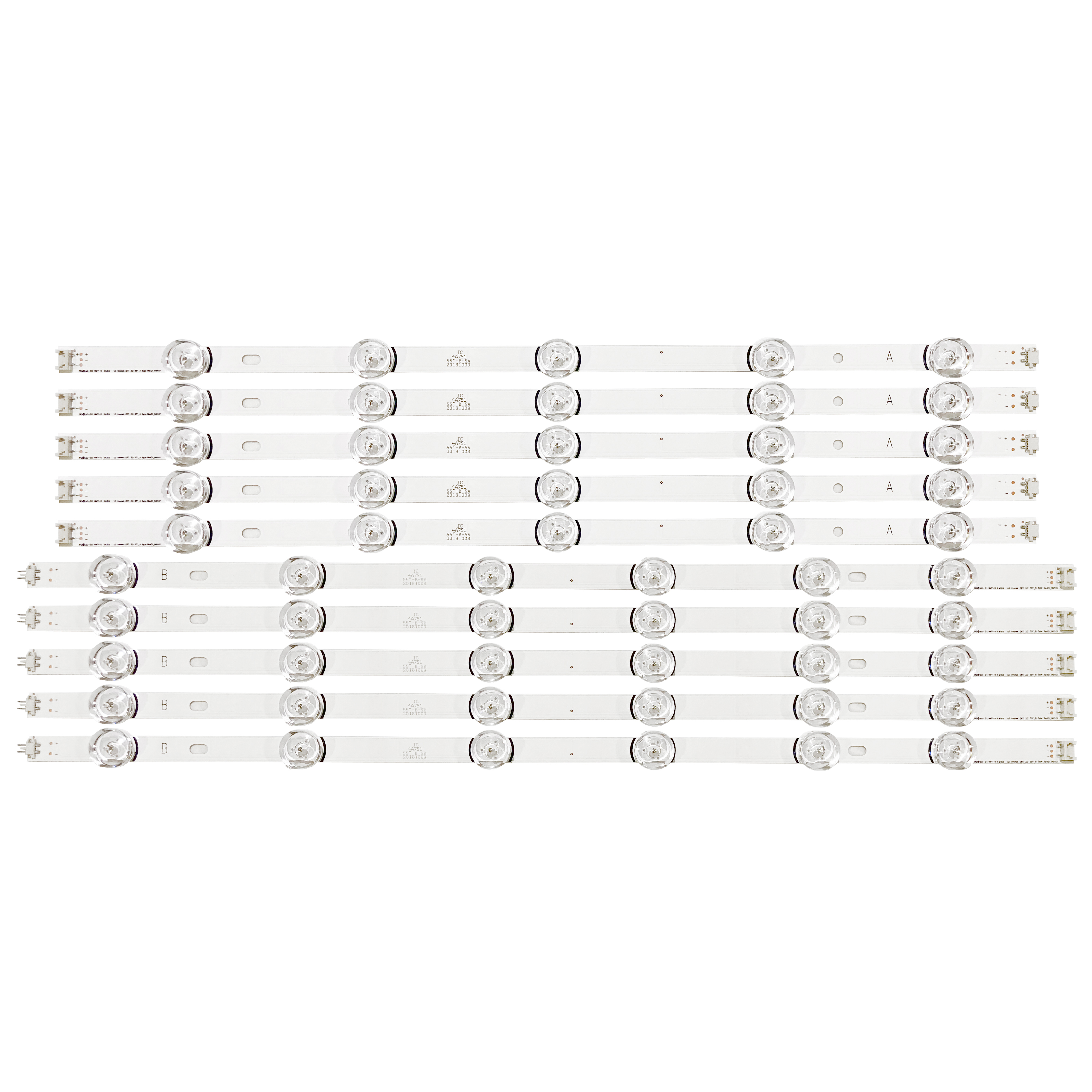 LED Backlight strip For 55LB650V 55LF6000 55LB6100 55LB582U 55LB650V 55LB629V 55LB570V 55LB5900 55LB5500 55LH575A 55LB652T