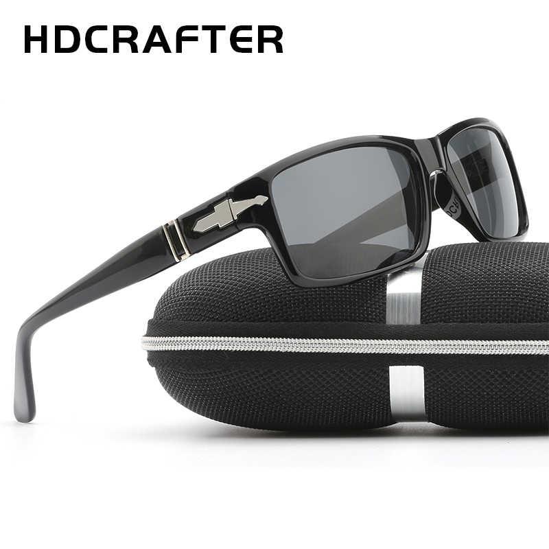 bc86340dc9 ... HDCRAFTER Fashion Men Sunglasses Polarized Mens Driving Sunglasses  Mission Impossible4 Tom Cruise James Bond Retro Sun ...