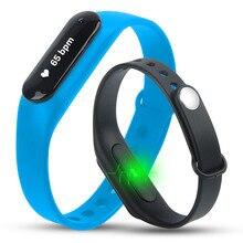 5pcs/lot Multifunction Smart Bracelet Wristband Bluetooth Bracelet Smart Watches Sports Watches Heart Rate Monitor Waterproof