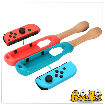 Drum Stick Taiko Drum for Nintend Switch Joy-Con Drumstick Drum Stick Kinect Hand Grip Holder Handle for Switch NS Handgrip image