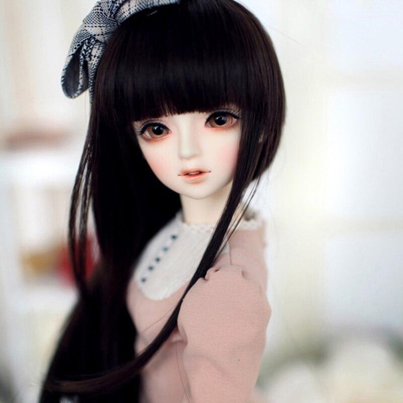 Кукла 1/4 BJD SD, модный стиль, модель Elenas, кукла из смолы с макияжем для маленькой девочки, подарок, бесплатная доставка