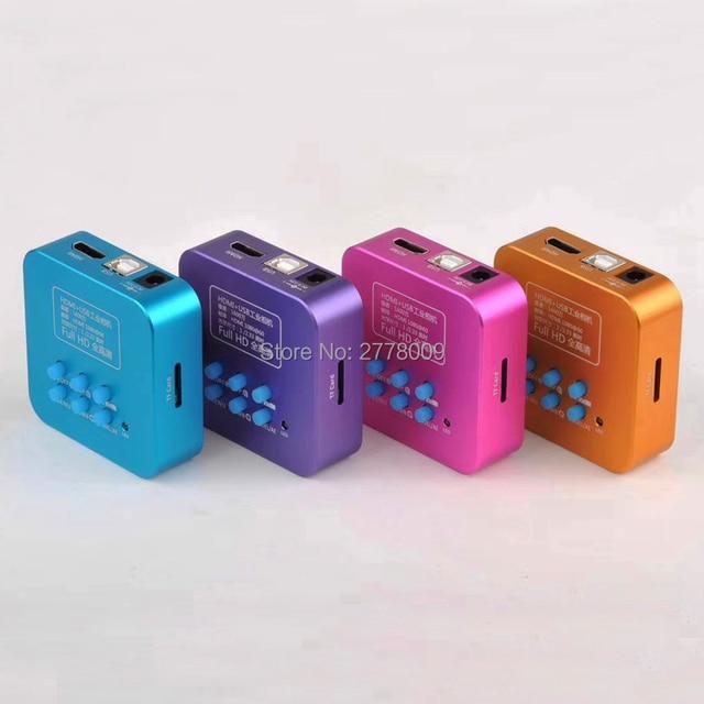 20MP מלא HD 1080P 60FPS HDMI USB HD פלט תעשיית C mount מיקרוסקופ וידאו מצלמה שלט רחוק נייד טלפון מעבד תיקון
