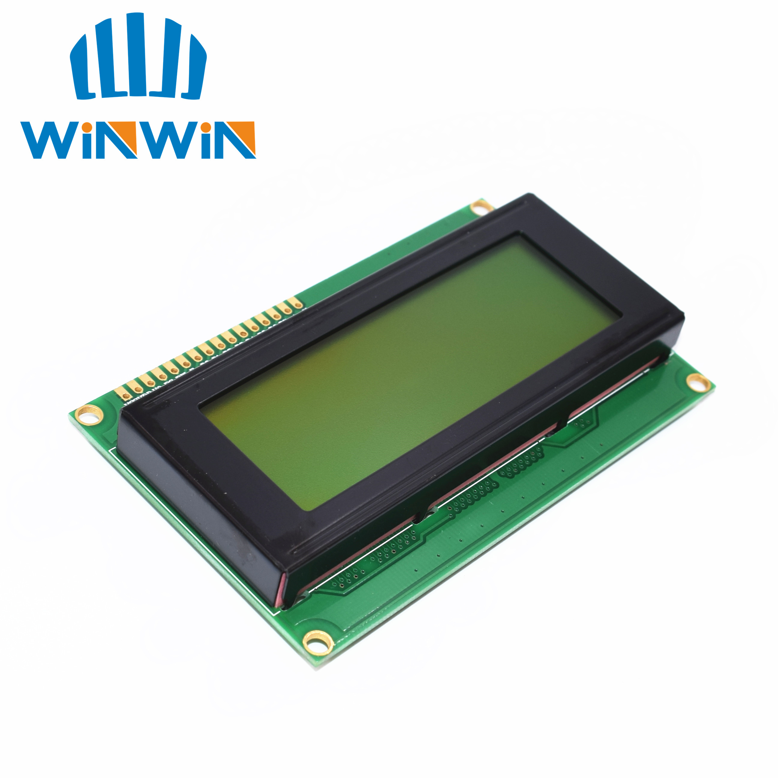 1pcs LCD Board 2004 20*4 LCD 20X4 5V Yellow-green Screen LCD2004 Display LCD Module LCD 2004
