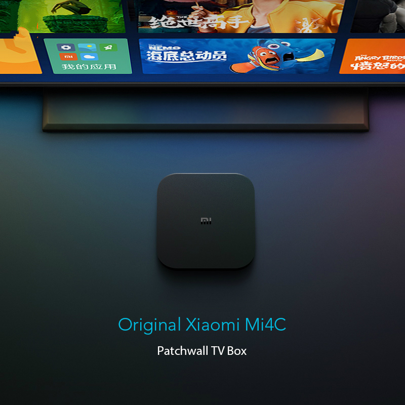 US $52 1 20% OFF|Chinese Version Xiaomi MI Box 4C Mi4C Box Amlogic S905L  Xiomi Ip TV 4K HDR DTS HD 2 4G WiFi HDMI Xioami TV Box-in Set-top Boxes  from