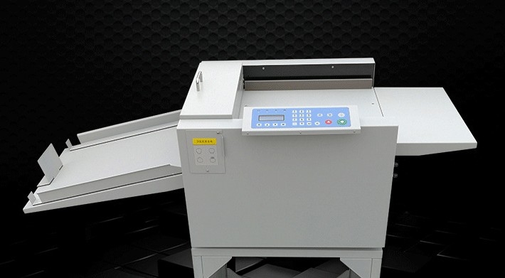 2019 New Automatic Digital Paper Creaser Perforator 2 in 1 Paper Creasing Machine and Perforating Machine Book Spine Crease machine