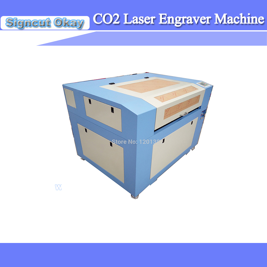 Cheap Price CO2 Laser Engraving Rubber Stamp Laser Engraving Machine 6090/9060 For Rubber/cloth/wood With 600*900mm Working Size