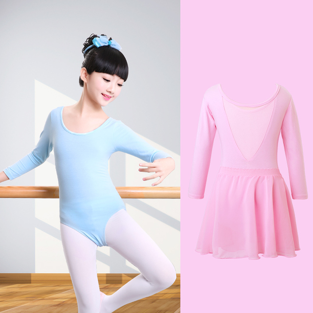 bd7c3c47c Children Ballet Leotard Dance Suit Kids Gymnastic Leotard With ...