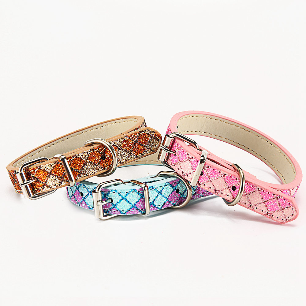 Plaid Pet Collars For Small Large Leashes Dogs Collars Basic Training Leashes For Large Dogs Collar (17)