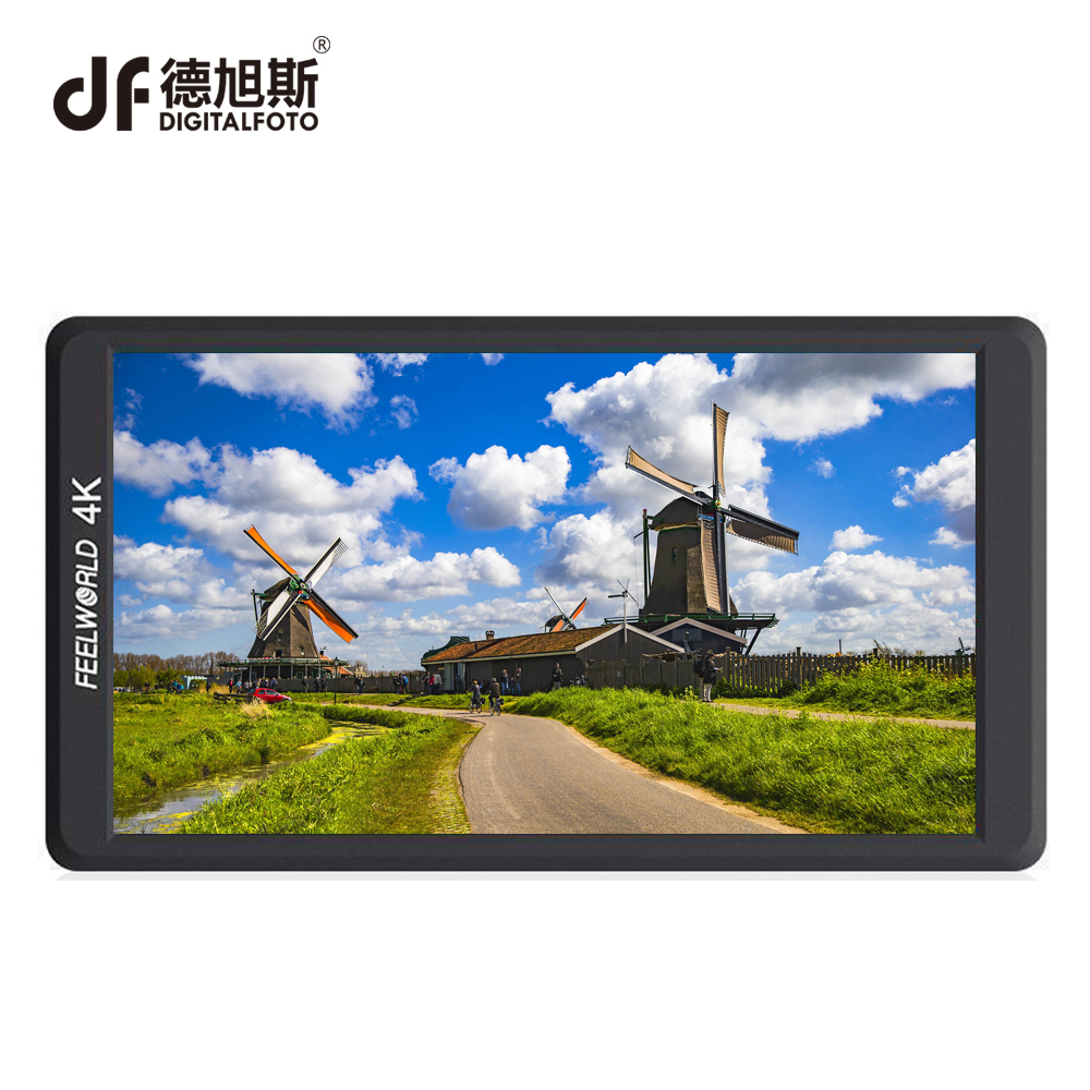 DIGITALFOTO FEELWORLD HD 1920x1080 F570 5.7  4K professional camera Monitor with HDMI Input Output IPS for film-making shooting