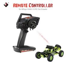 Originele 2.4G 2CH Auto Zender Radio Afstandsbediening voor Wltoys 12428 1:12 RC Auto RC Crawler
