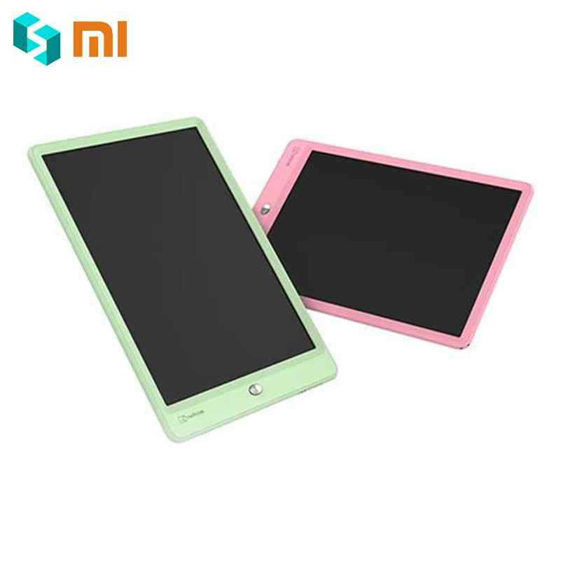 Xiaomi Wicue 10 Inch Size Kids Handwriting Board LED Imagine Drawing Pad Tablet Expanding Children Idea Portable with Battery