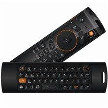 Mele F10 2,4 ГГц Fly Air Мышь ИК обучения Функция Deluxe Беспроводной клавиатура дистанционного Управление для Android ТВ коробка