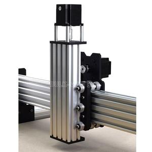 Image 4 - 40x40 אינץ Workbee CNC נתב מכונת ערכת 4 ציר עץ מתכת חריטת כרסום מכונת עם 175 oz * ב Nema23 מנועים צעד