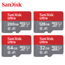 SanDisk Ultra Memory Card 200GB 128GB 64GB 32GB 16GB 8GB microSDHC/micro SDXC UHS-I micro SD card 98MB/s TF Card For Smartphone