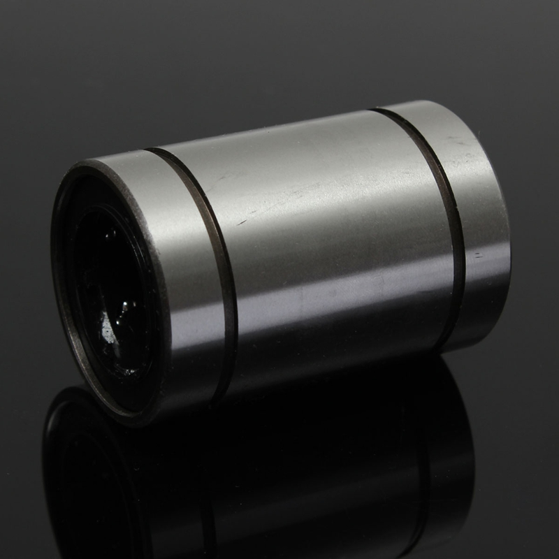 Top Quality  LM25UU 25mm Linear Ball Bearing Bush Bushing Steel 25x40x59mm 6 Ball Rows Industry Parts 1pc scv40 scv40uu sc40vuu 40mm linear bearing bush bushing sc40vuu with lm40uu bearing inside for cnc