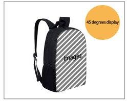 THIKIN fajne Gormiti torby szkolne dla chłopców dzieci dziewczyny tornister Plecak dzieci tornister Book Bag nastolatek Plecak Szkolny 2019 4