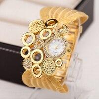 2016 Women S Fashion Bracelet Watches Ladies Designer Gold Watches Top Luxury Steel Band Watch Women