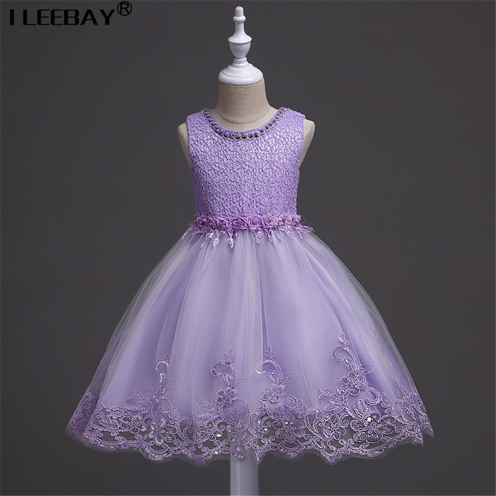 Children Teenager Girls Clothing Toddler Dress 2-10Y Costume Kids Dresses for Girls Wedding Lace Princess Dress Girls Ball Gowns