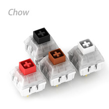 Kailh Mechanical Keyboard Switch 10pcs IP56 Waterproof Black Red Brown White Silent Switches Box Switch